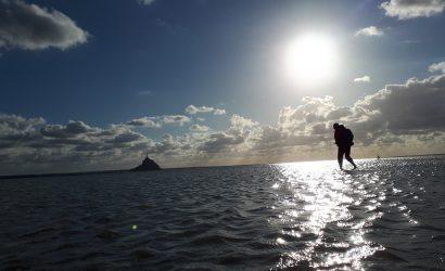 Montant de mer en baie du Mont Saint Michel